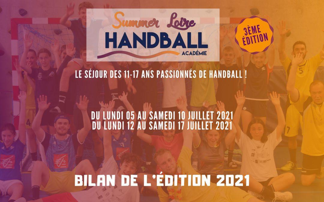 Summer Loire Handball Académie : Bilan de l'édition 2021